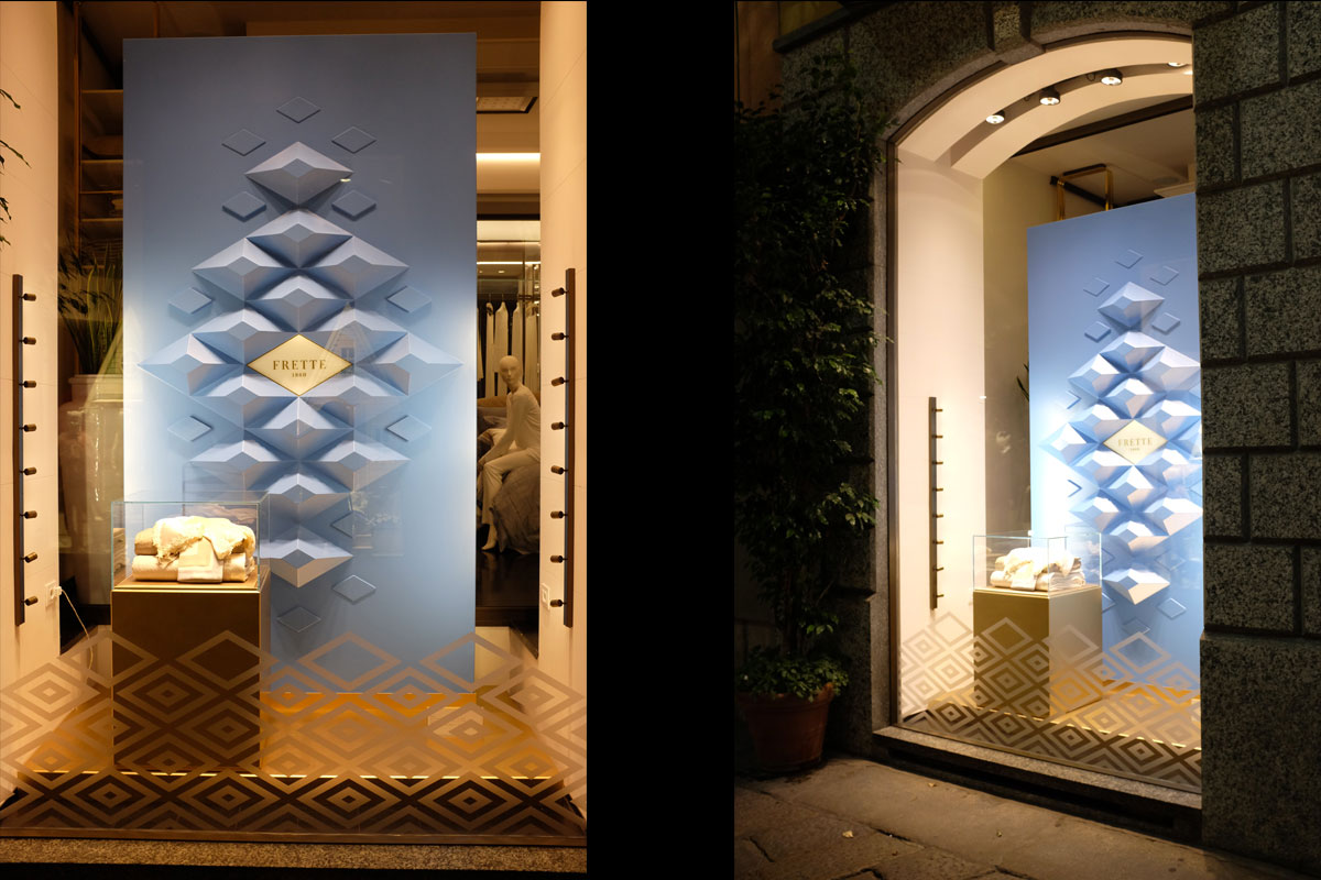 Co and co for Frette milano